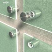 ø 11 mm Abstandshalter V2A mit Gewinde · Glashalter · Edelstahl Schilderhalter