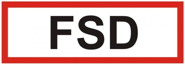 Brandschutzzeichen-9-FSD -Textschild DIN 4066 Brandschutzzeichen