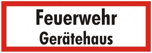 Brandschutzzeichen-9-Feuerwehr Gerätehaus-Textschild DIN 4066 Brandschutzschild