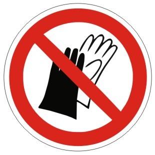 Verbotszeichen-1-P028-Benutzen von Handschuhen verboten-DIN EN ISO 7010