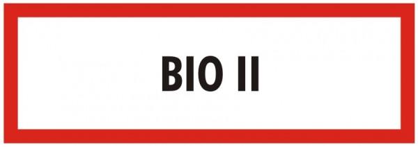 Brandschutzzeichen-9-BIO 2-Textschild DIN 4066 Brandschutzschild