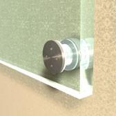 ø 30 mm Abstandshalter V2A mit Gewinde · Glashalter · Edelstahl Schilderhalter