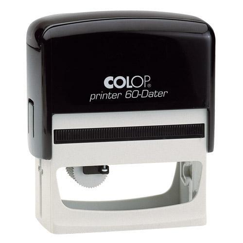 37x76 mm · Printer 60 H · Datum Hochformat · Colop-Dater
