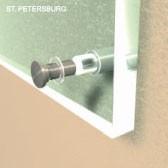 ø 14 mm Abstandshalter V2A mit Gewinde · Glashalter · Edelstahl Schilderhalter