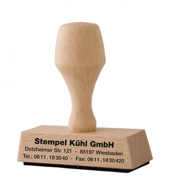 10x30 mm · Holzstempel bestellen · Stempel Moers · Stempel selber machen