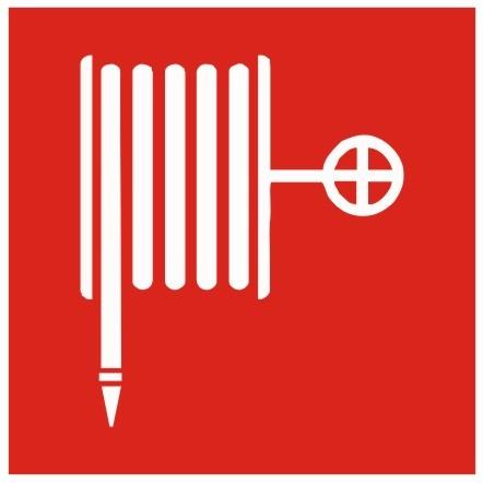Brandschutzzeichen-8-F03-Löschschlauch- nach BGV A8 Brandschutzzeichen