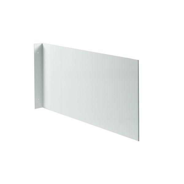 Fahnenschild neutral zur Wandmontage - einfach - hochformat