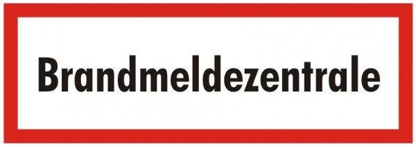 Brandschutzzeichen-9-Brandmeldezentrale -Textschild DIN 4066 Brandschutzzeichen