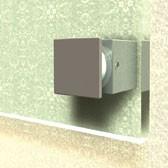 ø 15 mm 4-Kant Abstandshalter V2A mit Inbus · Glashalter · Edelstahl Schilderhalter