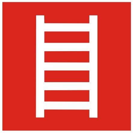 Brandschutzzeichen-8-F04-Leiter- nach BGV A8 Brandschutzzeichen