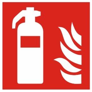 Brandschutzzeichen-8-F001-Feuerlöscher- nach DIN EN ISO 7010 Brandschutzzeichen