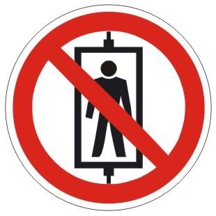 Verbotszeichen-1-P027-Personenbeförderung verboten-DIN EN ISO 7010