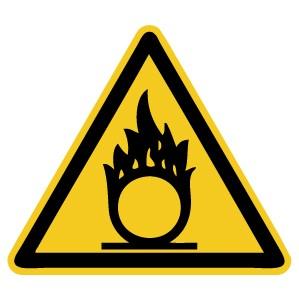 Warnzeichen-4-W028-Warnung vor spitzem Gegenstand-DIN EN ISO 7010