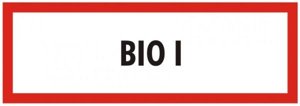 Brandschutzzeichen-9-BIO 1-Textschild DIN 4066 Brandschutzschild