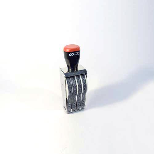 15mm 4 Bänder Ziffernstempel Handstempel