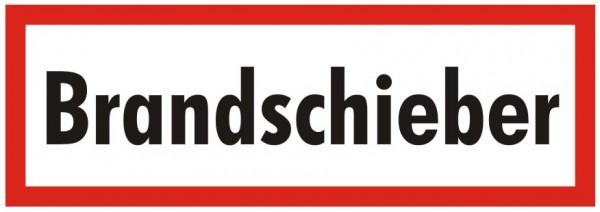 Brandschutzzeichen-9-Brandschieber-Textschild DIN 4066 Brandschutzschild