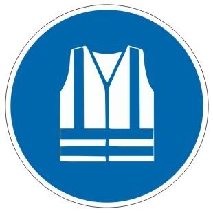 Gebotszeichen-3-M015-Warnweste benutzen-DIN EN ISO 7010