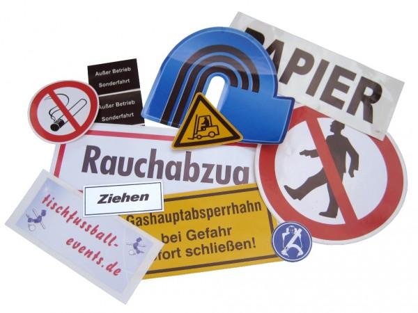 70x20 mm · Aufkleber drucken lassen · Aufkleber online gestalten · Aufkleber Mönchengladbach