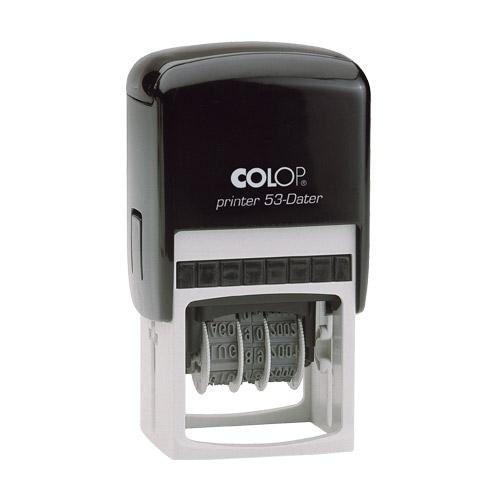 30x45 mm · Printer 53 · Datum · Colop-Dater