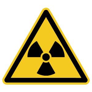 Warnzeichen-4-W003-Warnung vor radioaktiven Stoffen oder ionisierender Strahlung-DIN EN ISO 7010