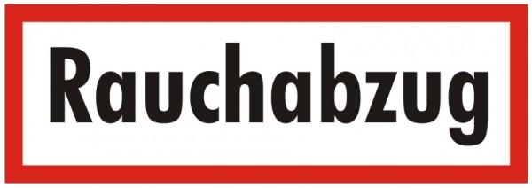Brandschutzzeichen-9-Rauchabzug-Textschild DIN 4066 Brandschutzschilder