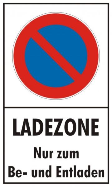 Ladezone Eingeschränktes Halteverbot nur zum Be- und Entladen
