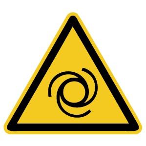 Warnzeichen-4-W018-Warnung vor automatischem Anlauf-DIN EN ISO 7010