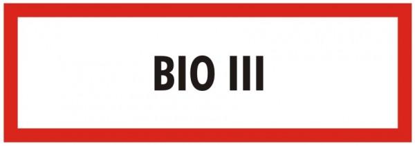 Brandschutzzeichen-9-BIO 3-Textschild DIN 4066 Brandschutzschild