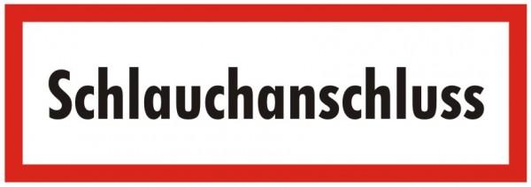 Brandschutzzeichen-9-Schlauchanschluss-Textschild DIN 4066 Brandschutzschilder