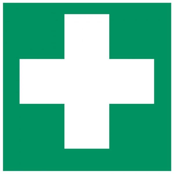 Fluchtwegeschild-6-E003-Erste Hilfe-DIN EN ISO 7010 Fluchtwegzeichen