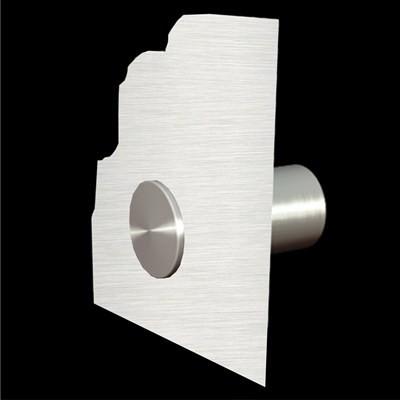 Aluschild 500 x 350 mm Praxisschild · Kanzleischild · Firmenschild