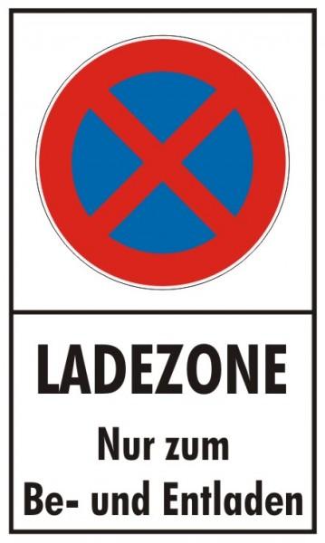Ladezone Absolutes Halteverbot nur zum Be- und Entladen