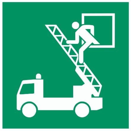 Fluchtwegeschild-6-E017-Rettungsausstieg-DIN EN ISO 7010 Fluchtwegzeichen