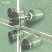 ø 20 mm Abstandshalter V2A mit Gewinde · Glashalter · Edelstahl Schilderhalter