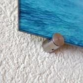 ø 20 mm Abstandshalter V2A für ungebohrte Schilder · Glashalter · Edelstahl Schilderhalter