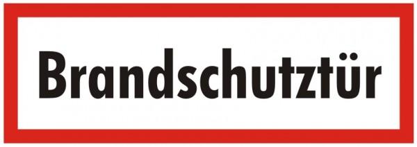 Brandschutzzeichen-9-Brandschutztür-Textschild DIN 4066 Brandschutzschilder