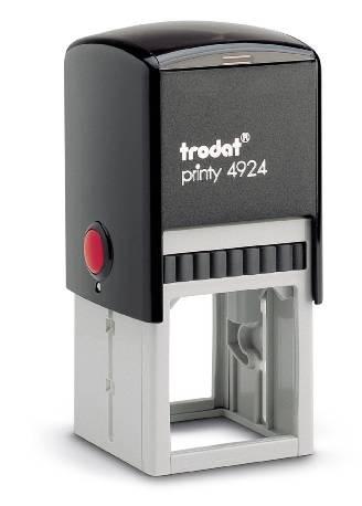 40x40 mm · Trodat Printy 4924 · Trodat Stempel selbst gestalten