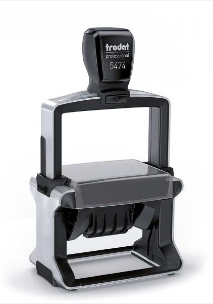 40x60 mm · Trodat 5474 ·Trodat Professional Line-Dater