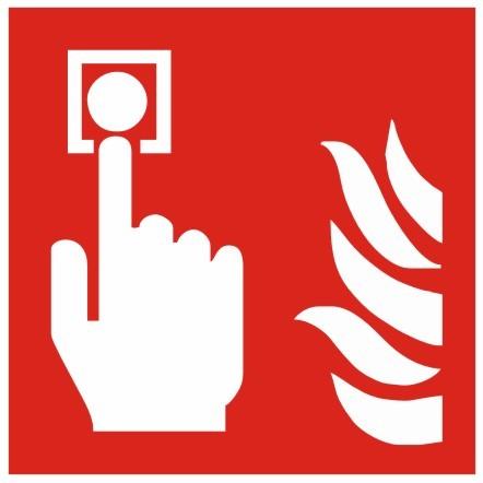 Brandschutzzeichen-8-F005-Brandmelder- nach DIN EN ISO 7010 Brandschutzzeichen