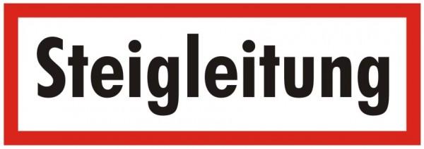 Brandschutzzeichen-9-Steigleitung-Textschild DIN 4066 Brandschutzschilder
