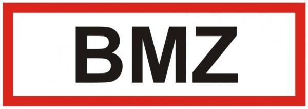 Brandschutzzeichen-9-BMZ-Textschild Brandschutzzeichen