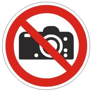 Verbotszeichen-1-P029-Fotografieren verboten-DIN EN ISO 7010