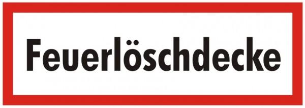 Brandschutzzeichen-9-Feuerlöschdecke-Textschild DIN 4066 Brandschutzschild
