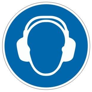 Gebotszeichen-3-M003-Gehörschutz benutzen-DIN EN ISO 7010
