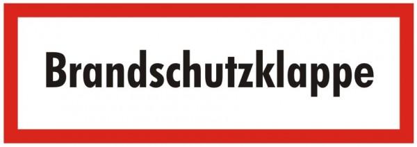 Brandschutzzeichen-9-Brandschutzklappe Brandschutzschild