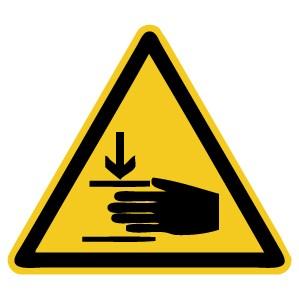 Warnzeichen-4-W024-Warnung vor Handverletzungen-DIN EN ISO 7010