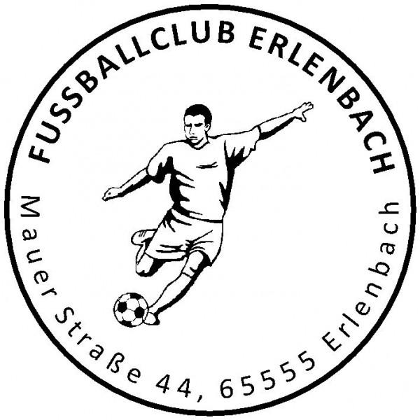 30 ø mm · Vereinsstempel · Clubstempel · Adressstempel · Fußballstempel