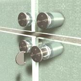 ø 25 mm Abstandshalter V2A mit Gewinde · Glashalter · Edelstahl Schilderhalter