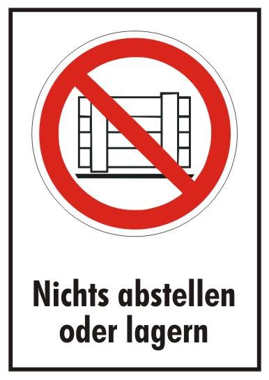 Verbotszeichen-1-P023-Abstellen oder Lagern verboten-2