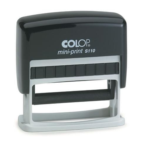 8x52 mm · Colop Printer S110 · Colop Stempel online gestalten · Stempel bestellen